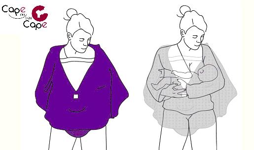 100% de qualité supérieure officiel bonne vente Cape ou pas Cape d'enfiler votre tenue de Super-Maman ...