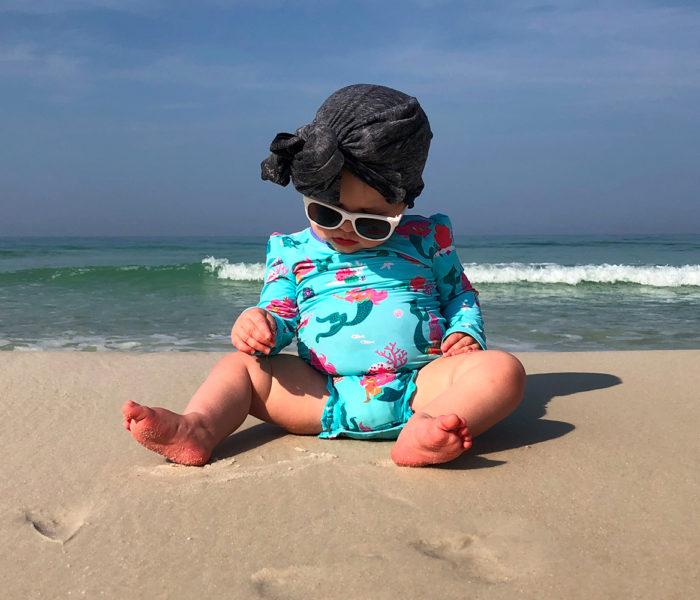 Maillot de Bain Lavable : gardez bébé au sec