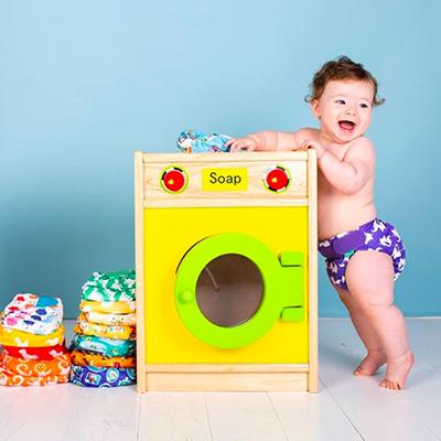 Couches lavables, je réduis mes déchets pour l'environnement