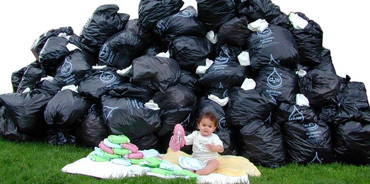 Couches lavables : je réduis mes déchets ?