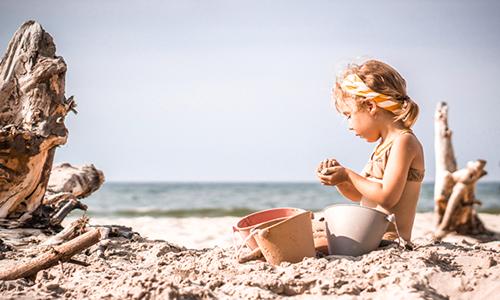jeux d'extérieur à la plage