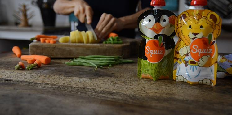 gourde réutilisable Squiz