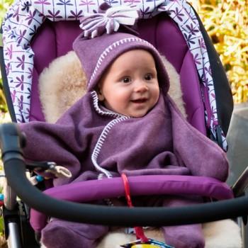 En hiver : même pas peur de sortir avec mon bébé !