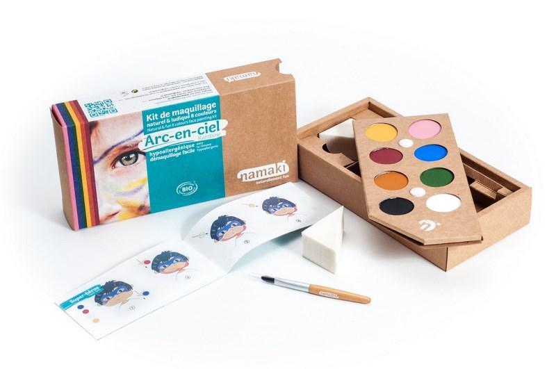 Maquillage pour bébés et enfants, à vos pinceaux !