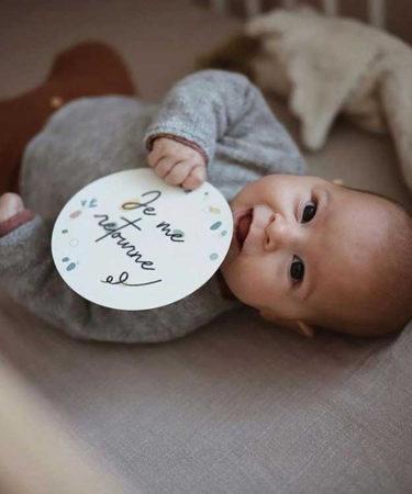 Voir bébé grandir avec la marque Snap the Moment
